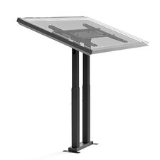 "Adjustable Ergonomic Touchscreen Tilt Floor Stand Mount for 32"" to 56"" Flat Panel Screen"