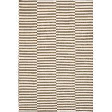 Cameron Stripe Sand & Ivory Area Rug