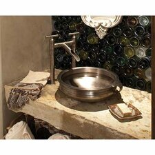 Circular Vessel Bathroom Sink by Linkasink