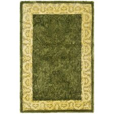 Silk Road Spruce/Ivory Area Rug
