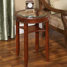 Asheville Glass Tea Table by Darby Home Co