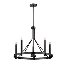 Telegraph 6-Light Candle-Style Chandelier