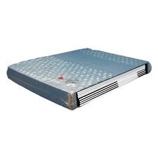 """9"""" Double-Wall Leak-Proof Patented Hydro Support 2100dw Mattress Waterbed"""