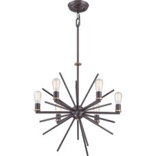 Uptown Carnegie 6-Light Sputnik Chandelier