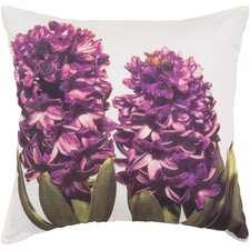 Hint of Hyacinths Throw Pillow