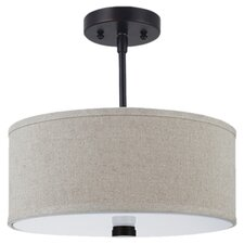 Dayna 2-Light Semi-Flush Mount