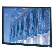 Da-Snap Black Fixed Frame Projection Screen