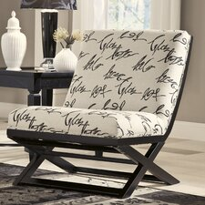 Hobson Showood Accent Slipper Chair by Signature Design by Ashley