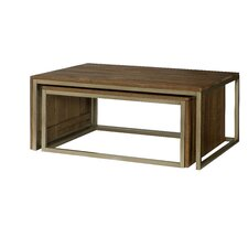 Flashback Nesting Coffee Table by Hammary