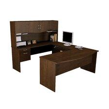 Harmony U-Shape Executive Desk with Hutch