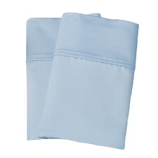 Uinta Cotton Blend 1000 Thread Count Wrinkle Resistant Solid Pillowcase Pair