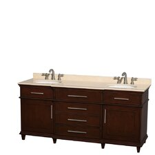 Berkeley 72 Double Bathroom Vanity by Wyndham Collection
