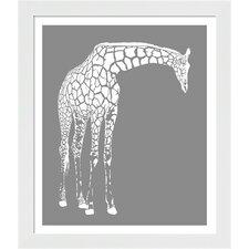 Giraffe Framed Art
