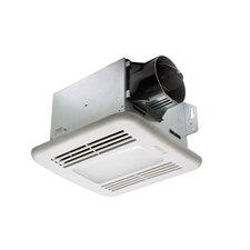 BreezGreenBuilder 80 CFM Energy Star Bathroom Fan with LED Light