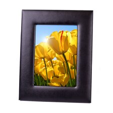 executive 5 x 7 genuine leather picture frame