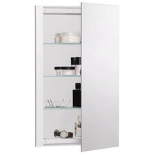 """R3 Series 16"""" x 26"""" Recessed or Surface Mount Medicine Cabinet"""