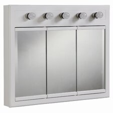 "Savanna 36"" x 30"" Surface Mount Medicine Cabinet with Lighting"