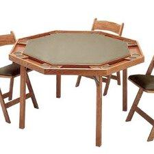 "57"" Contemporary Folding Poker Table"
