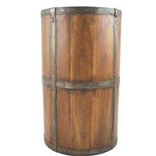 Rustic Wood Umbrella Stand