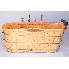 61 x 28 Soaking Bathtub by Alfi Brand