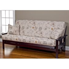 Versailles Futon Slipcover  by Siscovers