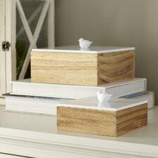 Finch 2 Piece Keepsake Box Set