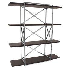 Calista 78 Accent Shelves Bookcase by Allan Copley Designs