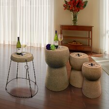 Champagne Coffee Table Set by Vinotemp