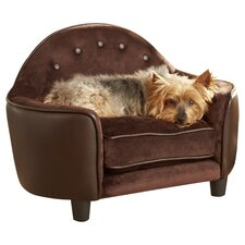 Ultra Plush Headboard Dog Sofa