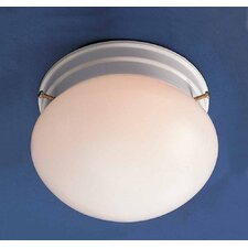 1-Light Ceiling Fixture Semi Flush Mount