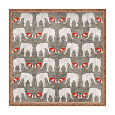 Holli Zollinger Elephant and Umbrella Square Tray
