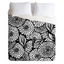 Julia Da Rocha Bouquet of Flowers Love Duvet Cover Collection