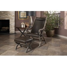Hunter Chair and Ottoman by Largo