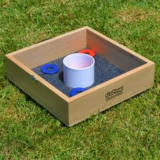 Premium Birch Wood 10 Piece Washer and Ring Toss Set