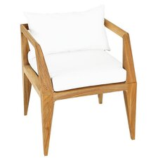 Limited Dining Arm Chair with Cushion