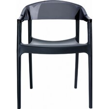 Carmen Stacking Dining Arm Chair (Set of 2)