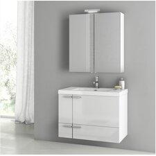 New Space 31.3 Single Bathroom Vanity Set by ACF Bathroom Vanities