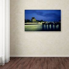 Louvre by Moises Levy Photographic Print on Wrapped Canvas by Trademark Fine Art