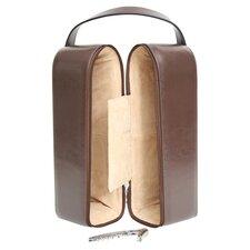 Personalized Garnett Genuine Leather Wine Case