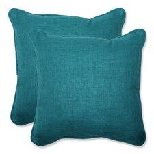 Rave Indoor/Outdoor Throw Pillow (Set of 2)