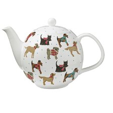 Hound Dog Bone China Teapot