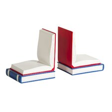 Open Book Bookend (Set of 2)