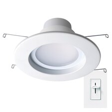 "Dimmable 4"" LED Recessed Retrofit Downlight"