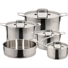 Inoxia 9 Piece Stainless Steel Cookware Set