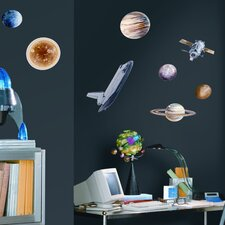 Umana 24 Piece Space Travel Wall Decal