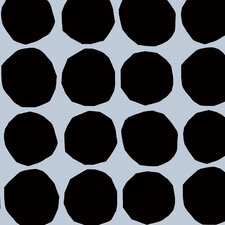 "Pienet Kivet 33' x 27"" Polka Dot Wallpaper Roll"
