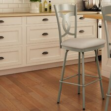 "Countryside Style 31.63"" Swivel Bar Stool"