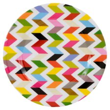 "Ziggy 8"" Melamine Salad Plate (Set of 4)"