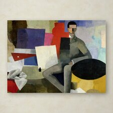 """The Architect"" by Roger de La Fresnaye Painting Print on Wrapped Canvas"