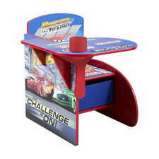 Cars Kids Desk Chair with Storage Compartment and Cup Holder by Delta Children